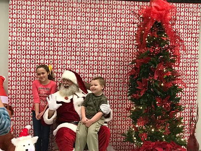 Breakfast with Santa (Dec. 2016)