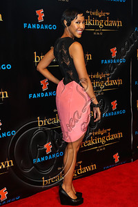 "SAN DIEGO, CA - JULY 11:  Actress Tracey Heggins arrives at ""The Twilight Saga: Breaking Dawn - Part 2"" VIP Comic-Con celebration at Hard Rock Hotel San Diego on July 11, 2012 in San Diego, California.  (Photo by Chelsea Lauren/WireImage)"