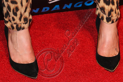 "SAN DIEGO, CA - JULY 11:  Actress Casey LaBow (shoe detail) arrives at ""The Twilight Saga: Breaking Dawn - Part 2"" VIP Comic-Con celebration at Hard Rock Hotel San Diego on July 11, 2012 in San Diego, California.  (Photo by Chelsea Lauren/WireImage)"