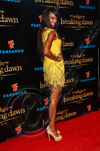 "SAN DIEGO, CA - JULY 11:  Actress Judi Shekoni arrives at ""The Twilight Saga: Breaking Dawn - Part 2"" VIP Comic-Con celebration at Hard Rock Hotel San Diego on July 11, 2012 in San Diego, California.  (Photo by Chelsea Lauren/WireImage)"