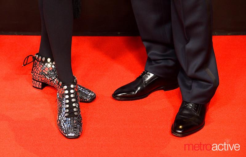 Red Carpet Foot Fashion