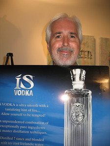 Photographs at Mixer in Brett Wesley Art Gallery Mixer with ISVodka Las Vegas.