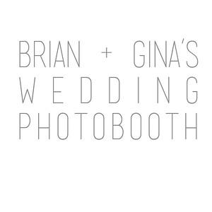 Brian+Gina's Wedding Photobooth