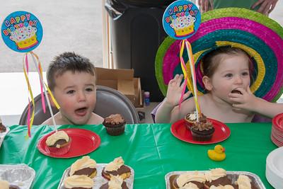 Briana & Michael's 4th Birthday Party