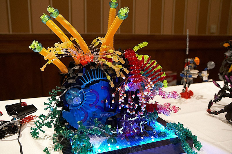 This creation is by the Brick Chick, the owner of the VW.