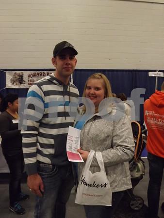 Brandon Myer and Nicole Hager.
