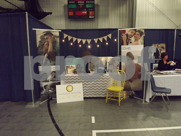 Booths set up around to advertise for the show. (photography)
