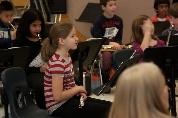 Bridget Band Rehearsal 2015