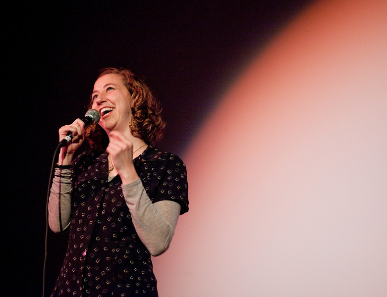 Kristen Schaal (Flight of the Concords) at the Bagdad.