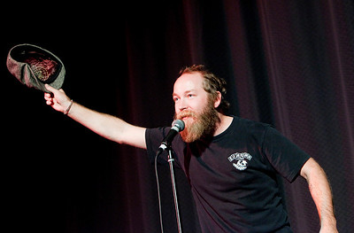 "This year's ""Iron Comic"" winner, Kyle Kinane"