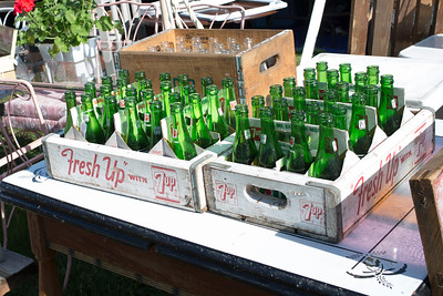 Complete 7-Up bottle collections.