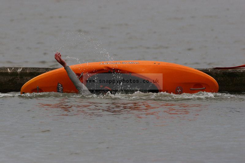 canoe capsize bristol rat race photos