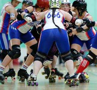 Bristol Roller Derby vs Leeds Roller Derby