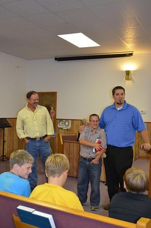 Bro Gary's Baptisms