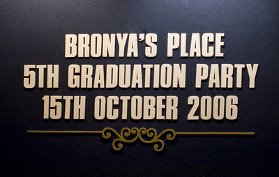 Bronya's Place 5th Graduation Party