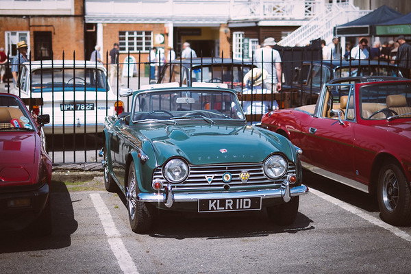 Brooklands - Triumph Day 2014