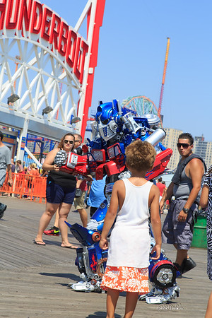 Brooklyn Optimus Prime