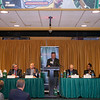 Brown and Brown speaker series, from the basketball court to the boardroom, at the EagleBank Arena. Wednesday, April 27, 2016.  John Boal Photography