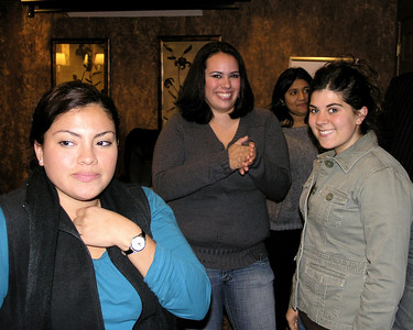 Samantha Ponce, Rachaell Castro, Sana Naveed and Briana Sawyer.