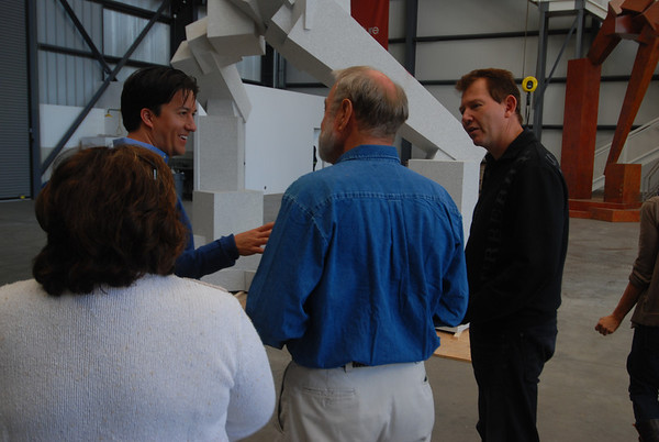 A Visit to Bruce Beasley's Studio (May 23, 2011)