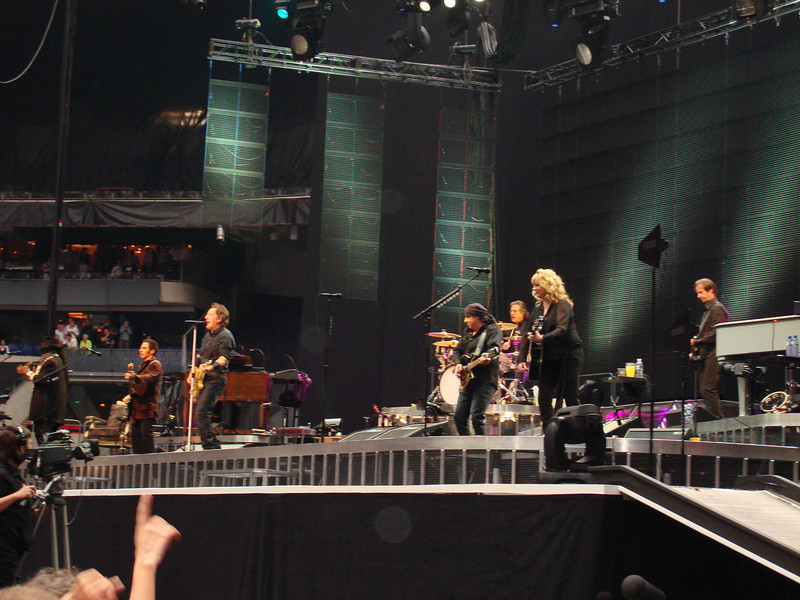 Bruce Springsteen and the E-Street Band in Amsterdam, 18 June 2008.