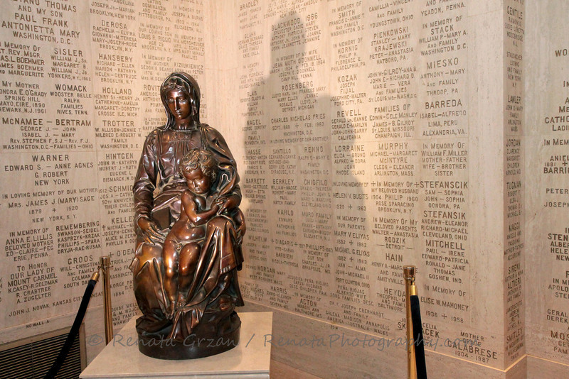 Bruges Madonna by Michelangelo - Bronze Replica