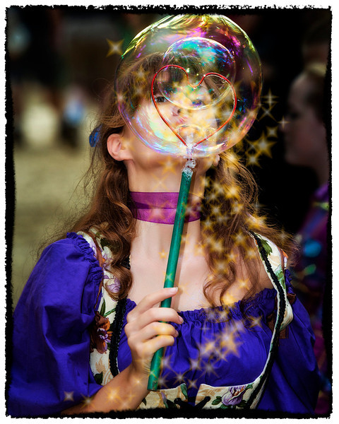 Tis a rare sight when one observes a Bubble Fairy of Rebel Grove using her Heart Wand as this is powerful magic indeed. Most mortals have no defenses against such magic and are simply mesmerized…