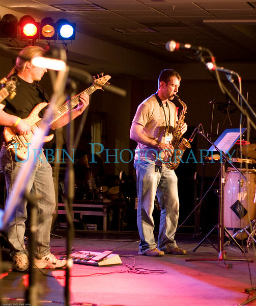 Musicians at the 2008 Bud Jam.