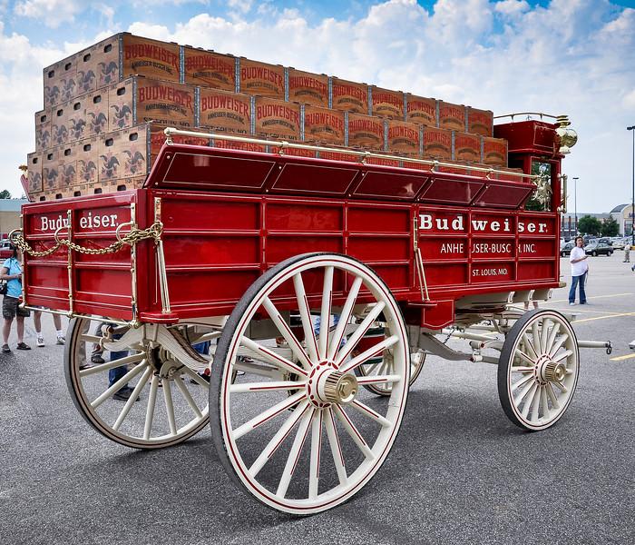 Budweiser Beer Wagon
