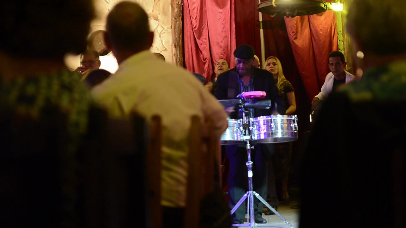 guest drummer solo at the Bueno Vista Social Club