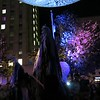 00aFavorite 20191102 (2047) 'Bull Moon Rising' installation, Durham NC - Paperhand Puppets and crowd dancing to B52s (video clip by Dilip Barman)