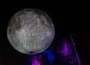 20191102 (2046) 'Bull Moon Rising' installation, Durham NC (image by Dilip Barman)