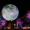20191102 (2036) 'Bull Moon Rising' installation, Durham NC (video clip by Dilip Barman)