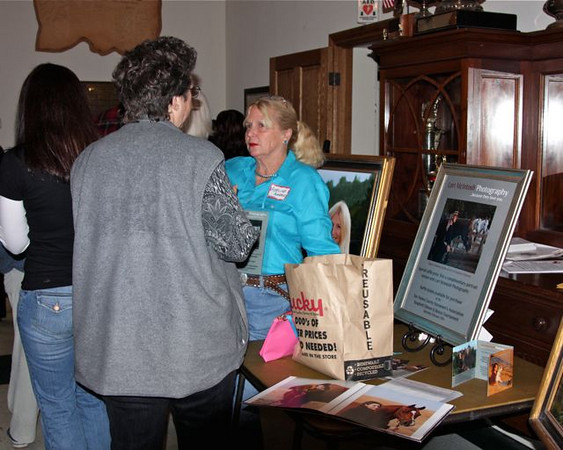 Adeline selling raffle tickets