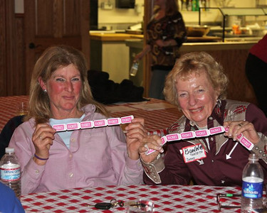 Joan & Bonnie hoping to win the raffle