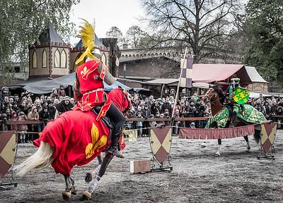 Knights tournament in Spandauer Zitadelle