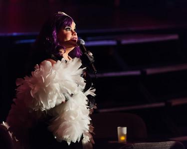Texas Burlesque Royalty 130104 0124 - Miss Violet, Emcee Extraordinaire Texas Burlesque Royalty 130104 0124