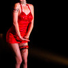 A burlesque troupe did a spectacular job of opening the stage for the Genitorturers at Club 5 in Jacksonville, FL, February 2002.