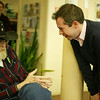 Bill Maris learning about Craig's wish to visit the Grand Ole Opry.