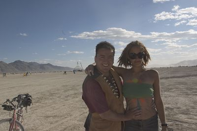 Heather and Me at Burning Man!  Heather, it was so Great to Meet You!