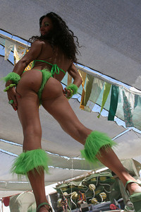 What Burn Man Gallery would be compleate without Anat.  Here she struts her stuff during the Burning Man Fashion Show.