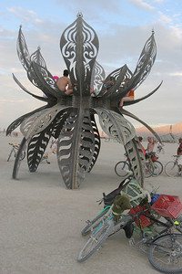 Art Instilation out on the Playa