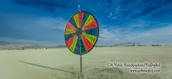 Ready to spin the wheel and take a chance?