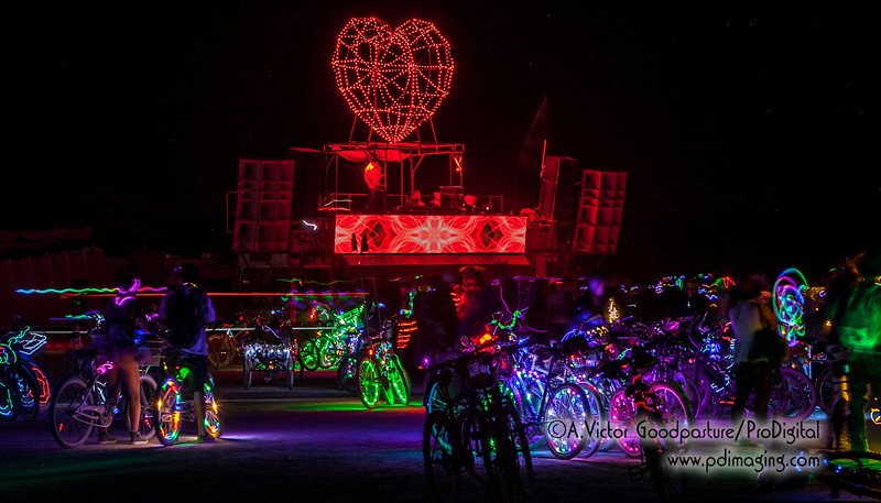 Robot Heart was one of the most popular EDM DJ art cars at Burning Man.