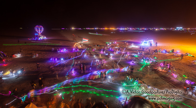 View of the playa from Catacomb of Veils.