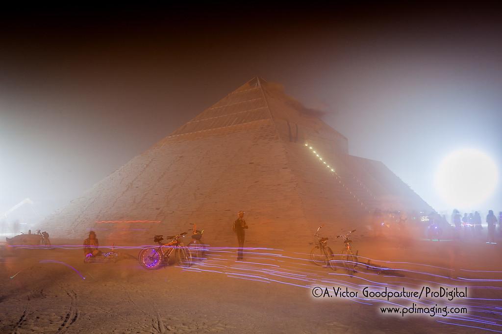 Catacomb of Veils is prepard for its sunrise burning.