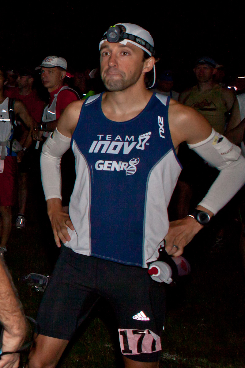 Todd Braje - Winner of the 2010 Burning River 100 Mile Endurance Run - Finished #1 - time 15:29:24