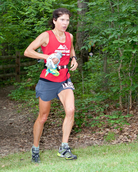 Annette Bednosky - finished #1 Woman, #6 Overall