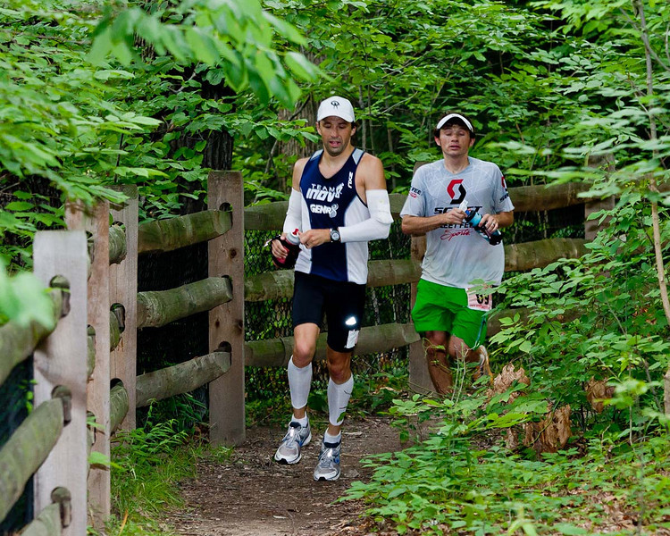 Todd Braje - Winner of the 2010 Burning River 100 Mile Endurance Run and Phil Kochik