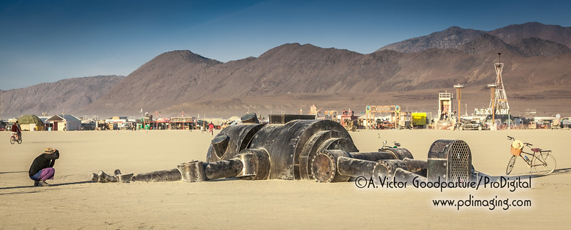 Mechan 9 was one of the coolest art structures on the playa.